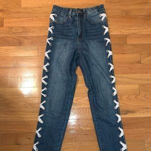 High rise H&M jeans
